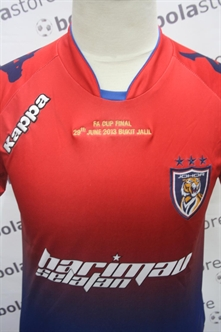 Picture of Johor Jersey 2013 FA Cup Final Edition Original Kappa