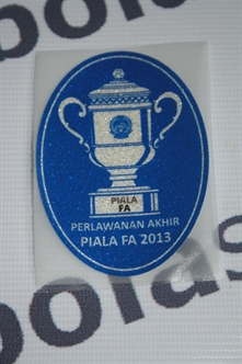 Gambar Patch FA Cup Final 2013 Original