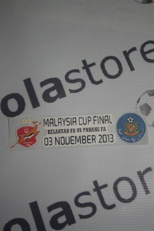 Picture of Kelantan VS Pahang Malaysia Cup 2013 Patch