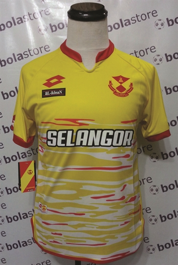 Picture of Selangor Away Jersey 2016 Original Lotto